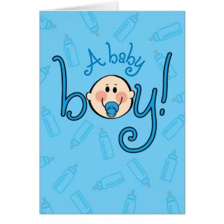 Cartes Congrats sur votre bébé ! Oh ! Oh !