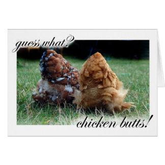 Cartes Conjecture ce qui ? Bouts de poulet !