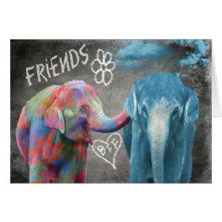 Cartes Consolation de l'éléphant BFF