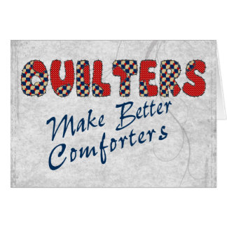 Cartes Consolation de Quilters