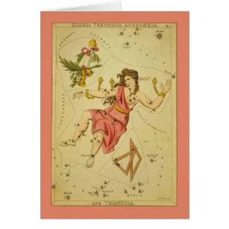 Cartes Constellation d'Andromeda