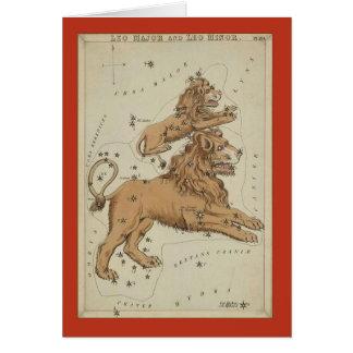 Cartes Constellation de Lion
