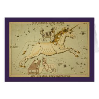 Cartes Constellation de Monoceros (licorne)