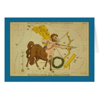 Cartes Constellation de Sagittaire