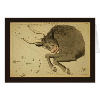 Cartes Constellation de Taureau