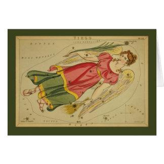 Cartes Constellation de Vierge