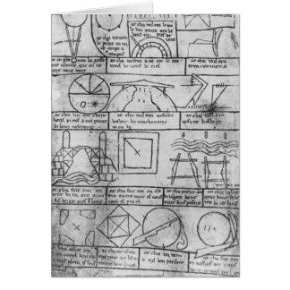 Cartes Copie de télécopie des chiffres géométriques