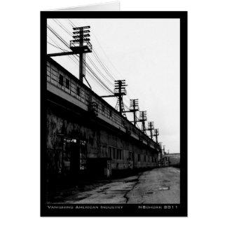 Cartes Copie industrielle urbaine de disparaition