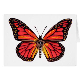 Cartes Copie vintage de papillon
