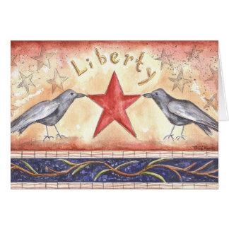 Cartes Corneilles de liberté