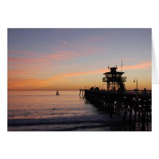 Cartes Coucher du soleil à San Clemente