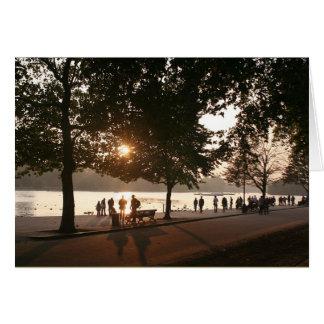 Cartes Coucher du soleil dans Hyde Park