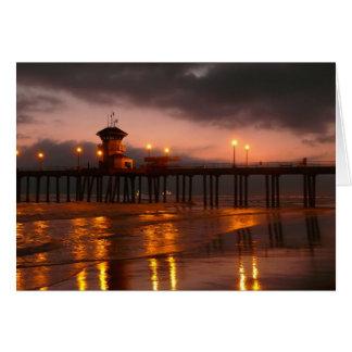 Cartes Coucher du soleil de la Californie chez Huntington