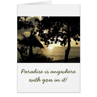 Cartes Coucher du soleil des Fidji