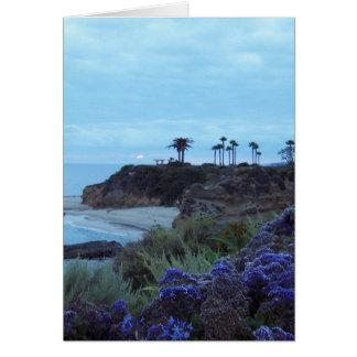 Cartes Coucher du soleil la Californie du sud de Laguna
