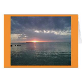 Cartes Coucher du soleil principal 6 de Largo