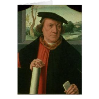 Cartes Counsellor Arnold Von Brauweiler, 1535