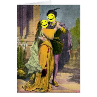 Cartes Coup d'oeil de Romeo et de Juliet