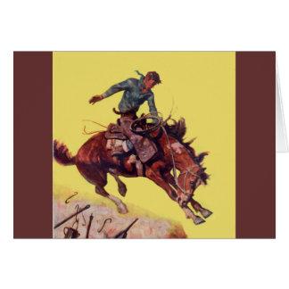 Cartes Coup sur le cowboy
