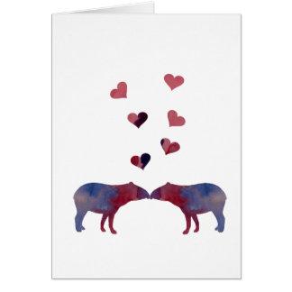 Cartes Couples de tapir