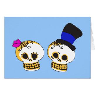 Cartes Couples squelettiques pimpants