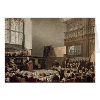 Cartes Cour de ministère des Finances, Westminster Hall