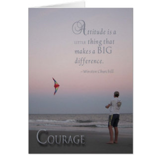 Cartes Courage - encouragement de cancer