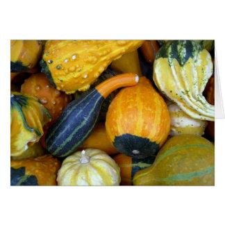 Cartes Courges d'automne