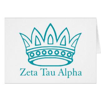 Cartes Couronne de ZTA avec ZTA