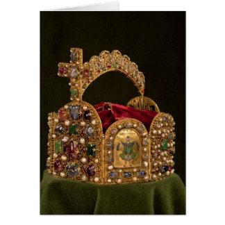 Cartes Couronne impériale faite pour le couronnement