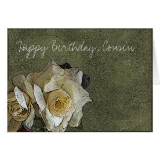 Cartes Cousin de joyeux anniversaire