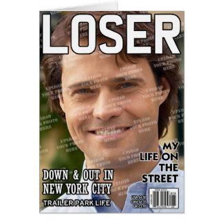 Cartes Couverture de magazine personnalisée par perdant