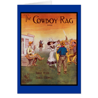 Cartes Cowboy occidental
