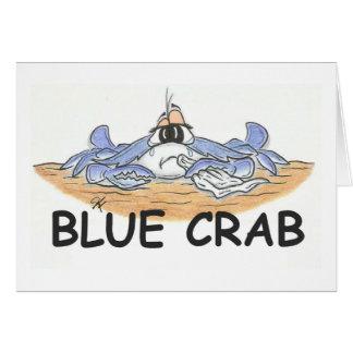 Cartes Crabe bleu