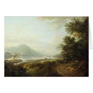 Cartes Crainte de loch, Argyllshire, c.1780-1800 (huile