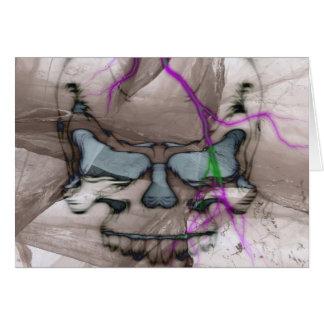 Cartes Crâne de saignement