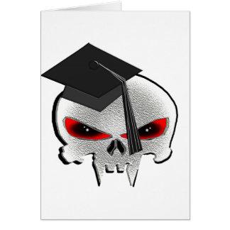 Cartes Crâne d'obtention du diplôme
