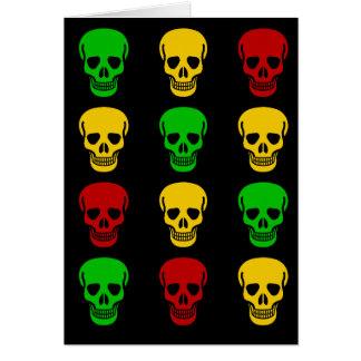 Cartes Crânes de Rasta