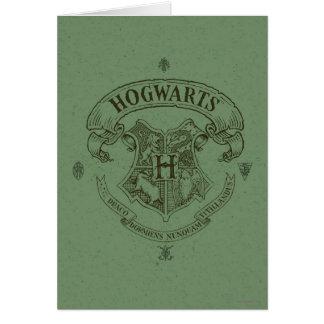 Cartes Crête de bannière de Harry Potter | Hogwarts
