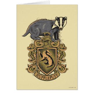 Cartes Crête de Harry Potter | Hufflepuff avec le