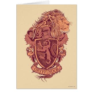 Cartes Crête de lion de Harry Potter | Gryffindor