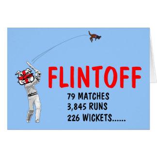 Cartes Cricket anglais drôle