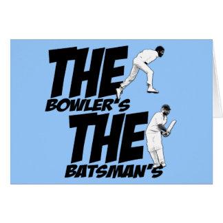 Cartes Cricket drôle
