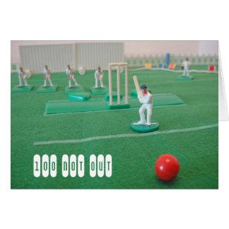 Cartes Cricket le 100th anniversaire