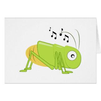 Cartes Cricket musical