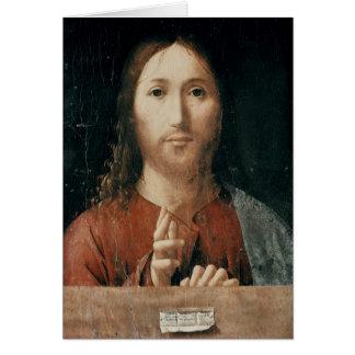 Cartes Cristo Salvator Mundi, 1465