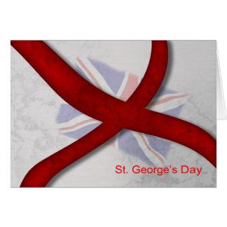 Cartes Croix de célébration du jour de St George de St