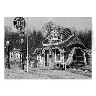Cartes Cru Missouri de cabines de station service et de