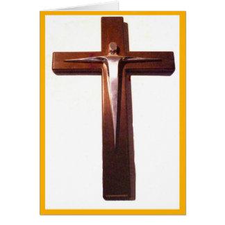 Cartes Crucifix du Christ levé