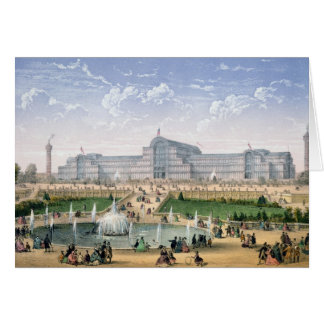 Cartes Crystal Palace, Sydenham, c.1862 (litho de